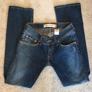 Levi's  low else jeans size 5M